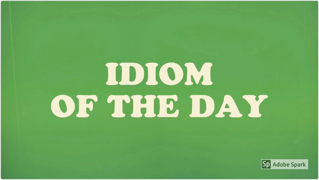idiom of the day video cover