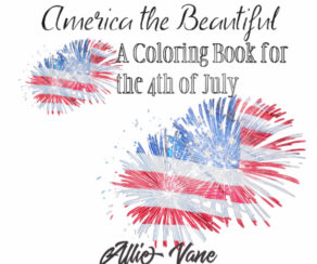 america the beautiful adult coloring book 4th of july